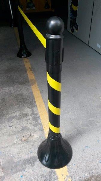 Pedestal em pvc