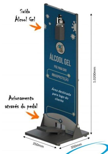 Totem álcool gel