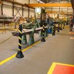 Sinalização de segurança industrial