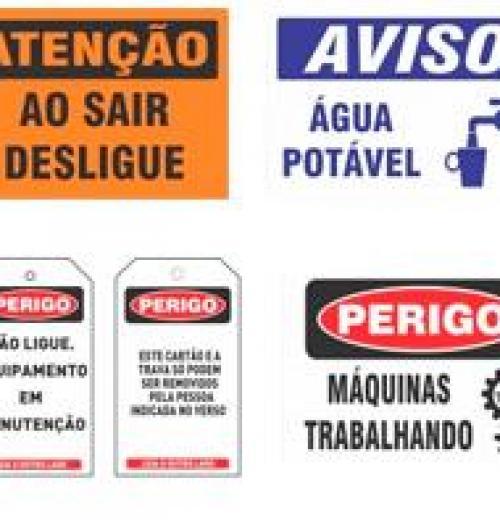 Placas para Sinalização Industrial